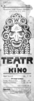 Teatr i Kino. R. 4, nr 19 (od 12 maja do 18 maja 1924)