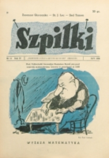 Szpilki. R. 4, nr 15 (1938)