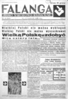 Falanga : pismo narodowe. R. 3, nr 15=95 (14-17 kwietni 1938)