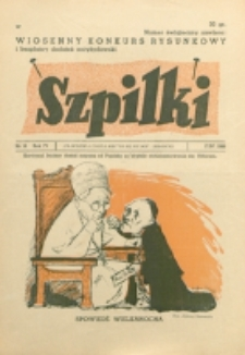 Szpilki. R. 4, nr 16 (1938)