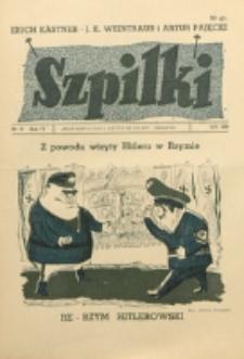 Szpilki. R. 4, nr 19 (1938)
