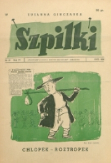 Szpilki. R. 4, nr 27 (1938)