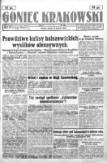Goniec Krakowski. R. 5, nr 184 (1943)