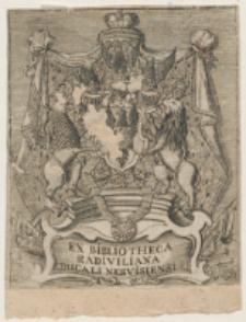 Ex Bibliotheca Raiviliana [...]