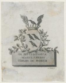 Ex Bibliotheca Warclanensi [...]