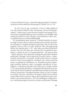 """O. Dariusz Borek O. Carm, """"Sextum Decalogi praeceptum"""" w kanonicznym prawie karnym aktualnie obowiązującym, Tarnów 2015, ss. 139."""