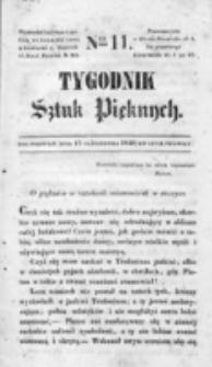 Tygodnik Sztuk Pięknych. nr 11 (1840)