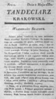 Tandeciarz Krakowski. nr 1 (1831)