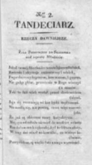 Tandeciarz. Poszyt 1, nr 2 (1831)