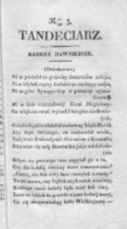Tandeciarz. Poszyt 1, nr 4 (1831)