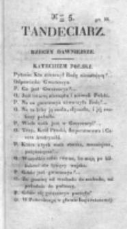 Tandeciarz. Poszyt 1, nr 5 (1831)