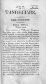 Tandeciarz. Poszyt 1, nr 7 (1831)