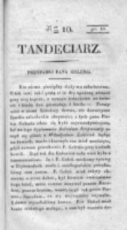 Tandeciarz. Poszyt 1, nr 10 (1831)