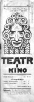 Teatr i Kino. R. 4, nr 33 (25 sierpnia do 31 sierpnia 1924)