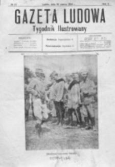 Gazeta Ludowa : wychodzi na każdą niedzielę. R. 2, nr 12 (1916)