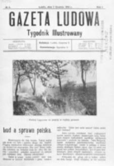 Gazeta Ludowa : wychodzi na każdą niedzielę. R. 1, nr 6 (1915)