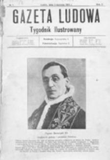 Gazeta Ludowa : wychodzi na każdą niedzielę. R. 2, nr 1 (1916)