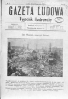 Gazeta Ludowa : wychodzi na każdą niedzielę. R. 2, nr 4 (1916)