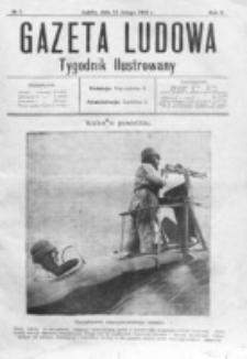 Gazeta Ludowa : wychodzi na każdą niedzielę. R. 2, nr 7 (1916)