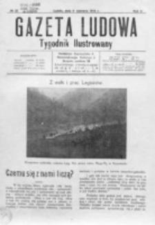 Gazeta Ludowa : wychodzi na każdą niedzielę. R. 2, nr 23 (1916)