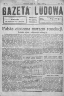 Gazeta Ludowa : wychodzi na każdą niedzielę. R. 5, nr 14 (1919)