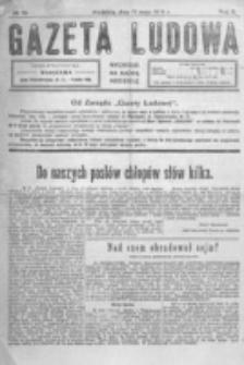 Gazeta Ludowa : wychodzi na każdą niedzielę. R. 5, nr 19 (1919)