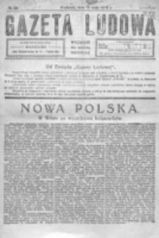Gazeta Ludowa : wychodzi na każdą niedzielę. R. 5, nr 20 (1919)