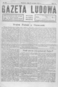 Gazeta Ludowa : wychodzi na każdą niedzielę. R. 5, nr 23 (1919)