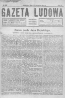 Gazeta Ludowa : wychodzi na każdą niedzielę. R. 5, nr 24 (1919)