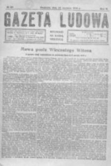 Gazeta Ludowa : wychodzi na każdą niedzielę. R. 5, nr 25 (1919)
