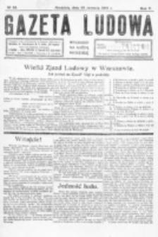 Gazeta Ludowa : wychodzi na każdą niedzielę. R. 5, nr 26 (1919)