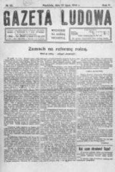 Gazeta Ludowa : wychodzi na każdą niedzielę. R. 5, nr 28 (1919)