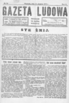 Gazeta Ludowa : wychodzi na każdą niedzielę. R. 5, nr 32 (1919)