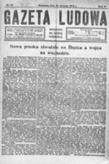 Gazeta Ludowa : wychodzi na każdą niedzielę. R. 5, nr 35 (1919)