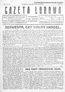 Gazeta Ludowa : wychodzi na każdą niedzielę. R. 5, nr 46/47 (1919)