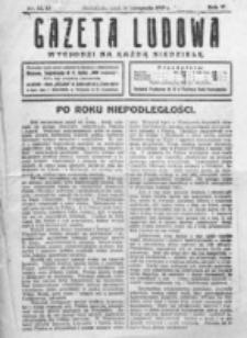 Gazeta Ludowa : wychodzi na każdą niedzielę. R. 5, nr 42/43 (1919)
