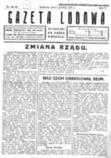 Gazeta Ludowa : wychodzi na każdą niedzielę. R. 5, nr 48/49 (1919)