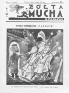 Żółta Mucha Tse-Tse. R. 5, nr 2 (8 stycznia 1933)