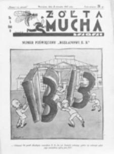 Żółta Mucha Tse-Tse. R. 5, nr 4 (22 stycznia 1933)
