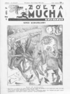 Żółta Mucha Tse-Tse. R. 5, nr 6 (5 lutego 1933)