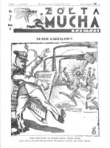 Żółta Mucha Tse-Tse. R. 5, nr 7 (12 lutego 1933)