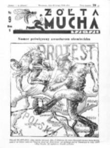 Żółta Mucha Tse-Tse. R. 5, nr 9 (26 lutego 1933)