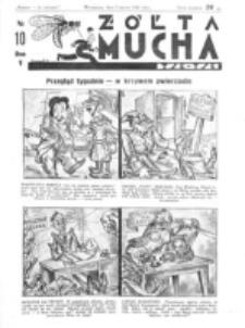 Żółta Mucha Tse-Tse. R. 5, nr 10 (5 marca 1933)