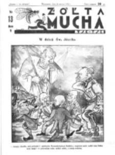Żółta Mucha Tse-Tse. R. 5, nr 13 (26 marca 1933)