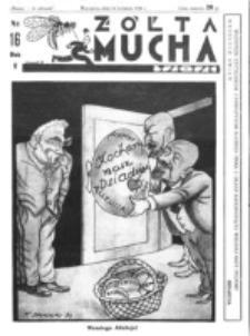 Żółta Mucha Tse-Tse. R. 5, nr 16 (16 kwietnia 1933)