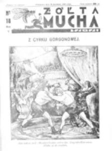 Żółta Mucha Tse-Tse. R. 5, nr 18 (30 kwietnia1933)