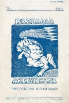 Przegląd Artystyczny. R. 1, nr 1 (1925)