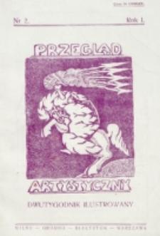 Przegląd Artystyczny. R. 1, nr 2 (1925)