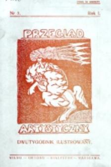 Przegląd Artystyczny. R. 1, nr 5 (1925)
