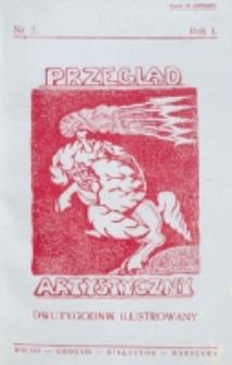 Przegląd Artystyczny. R. 1, nr 3 (1925)